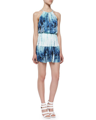 Bombay Graphic A-Line Dress, Ripa