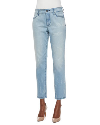 Clarissa Skinny Ankle Jeans, Water Reflection