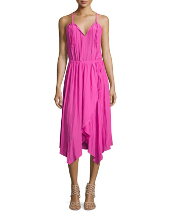 Pelandi Racerback Dress, Amaranth