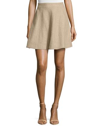 Flirt A-Line Skirt, Hemp