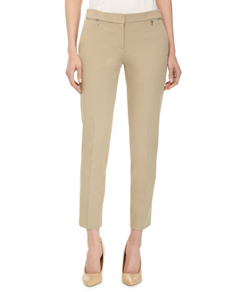 Samantha Ankle Pants, Sand