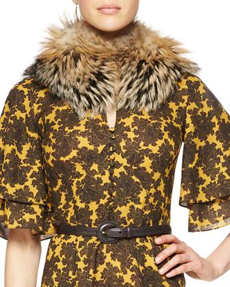 Fox Fur Tippet Collar