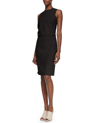 Atle Sleeveless Crepe Dress