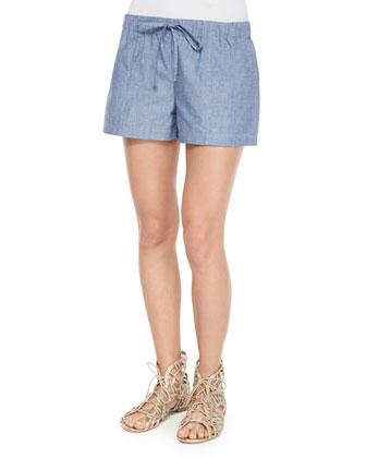 Neala Embroidered Top & Sivan Drawstring Shorts