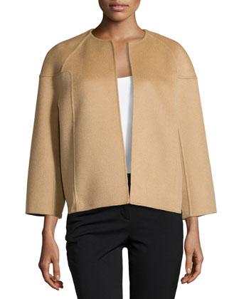 Bracelet-Sleeve Jacket, Fawn