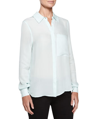 The Husband Silk Blouse, Skylight