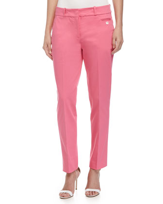 Samantha Skinny Ankle Pants, Carnation
