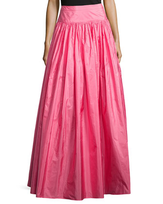 Hostess Full Long Skirt, Carnation