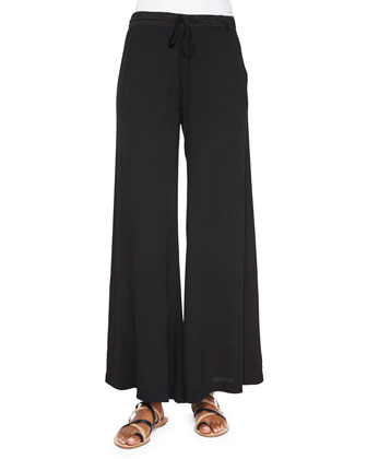 Windy Ghost Wide-Leg Pants, Women's