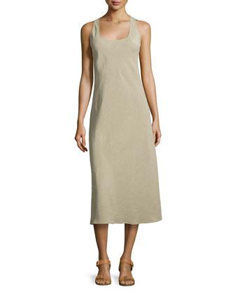 Midi Tank Dress, Sand