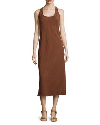 Midi Tank Dress, Nutmeg