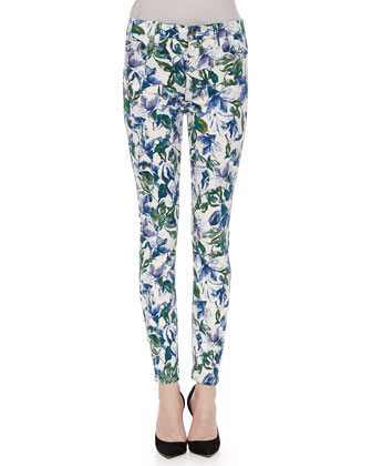 Blue Lily Skinny Jeans