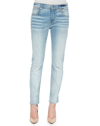 Relaxed Skinny Denim Jeans, Sice