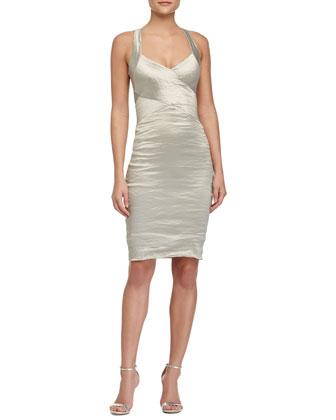 Sweetheart Cutout Racerback Dress, Mint