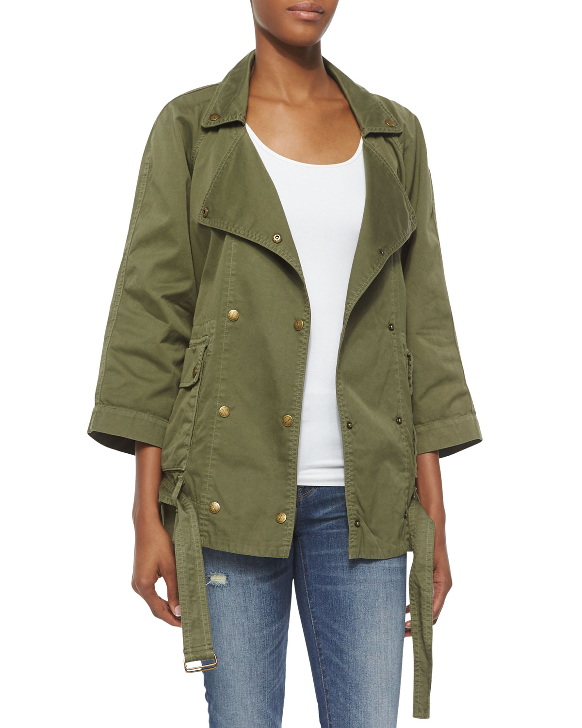 The Infantry Jacket, Army, Women's, Size: 3 - Current/Elliott