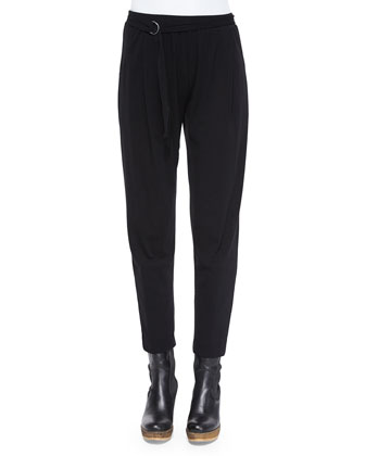 Side-Ring Easy Jersey Pants