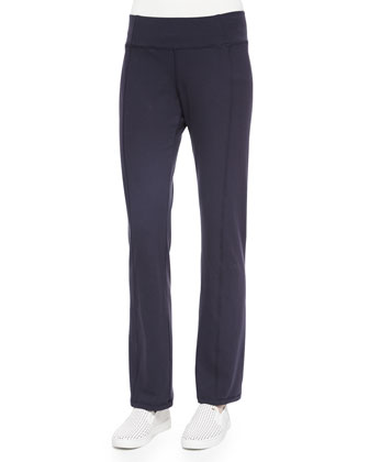 Stretch Jersey Yoga Pants, Petite