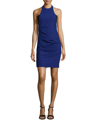 Alexa Techy Dream Halter Dress, Blue