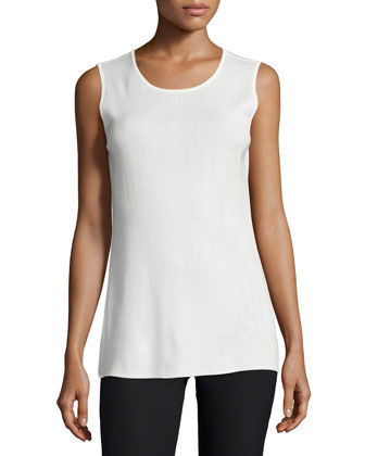 Sleeveless Long Tank