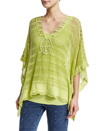Ara Hacienda Crochet Top, Women's