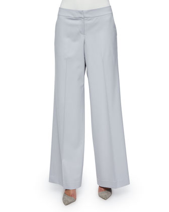 Modern Wide-Leg Pants, Sterling