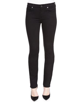 Kimmie Straight Leg Jeans, Slim Illusion Luxe Black