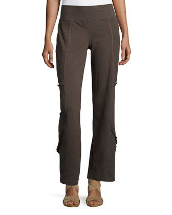 Neya Ruffle-Detail Pants