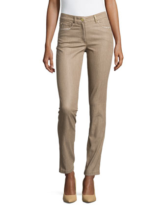 Crystal Straight-Leg Jeans, Savannah