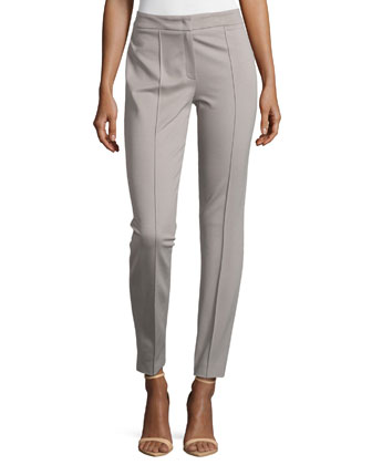 Mid-Rise Center-Seam Pants, Shadow