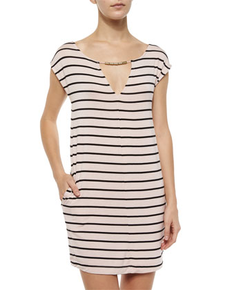 Lovett Striped Shift Dress