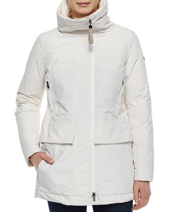 Graffias Mid-Length Zip-Front Jacket