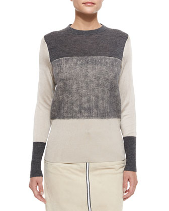 Marissa Colorblock Knit Sweater