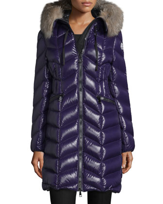 Bellette Fur-Trim Puffer Coat