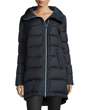 Mert KS High-Low Light Down Coat