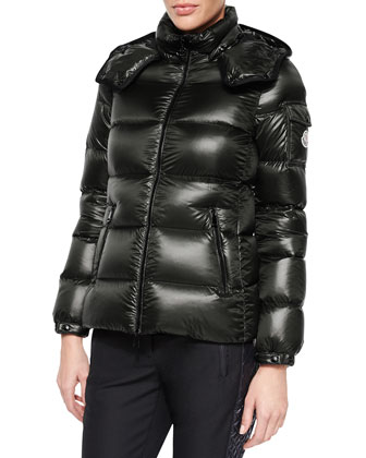Berre Lightweight Hooded Puffer Coat