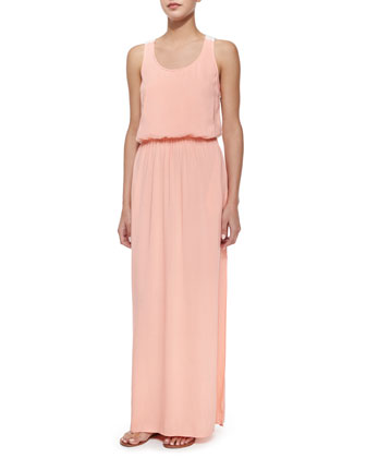 Racerback Maxi Dress, Sunrise/Bone