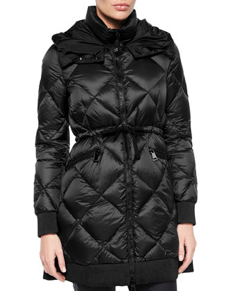 Verrerie Quilted Hooded Puffer Coat