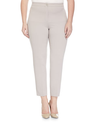 Ravel Slim-Leg Pants, Pink, Women's