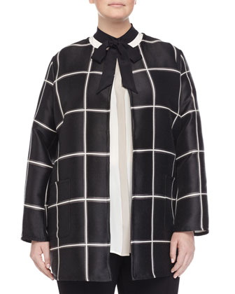 Famoso Windowpane Jacket, Women's