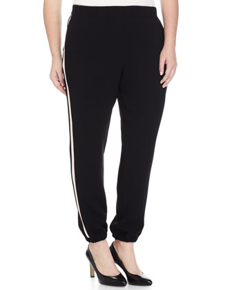Rapporto Side-Stripe Slim Pants, Women's