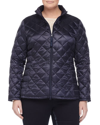 Pagoda Quilted Short Puffer Jacket, Bach Embroidered Blouse, Lapponia Long ...
