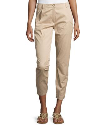 Slim-Leg Woven Pants, Savannah