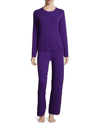 Cashmere Sweater & Pant Lounge Set