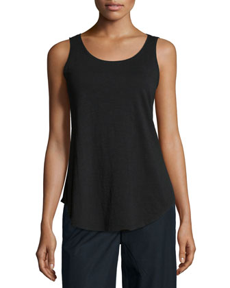 Fisher Project Rustic Crop Box Top, Slubby Cotton Tank & Wide-Leg Cropped ...