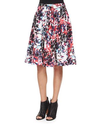Welch Cosmic A-Line Skirt, Rosebud