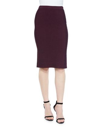 Laura Knit Pencil Skirt, Allure
