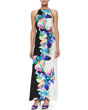 Perry Bali Floral-Print Maxi Dress