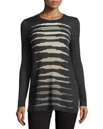 Firelight Long Lightweight Sweater Top, Women's