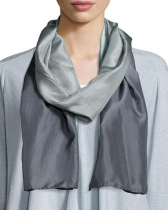 Alpaca-Blend Knee-Length Coat, Handkerchief Top, Cashmere/Wool Shibori ...