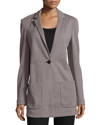 Birdseye Boyfriend Jacket, Women's